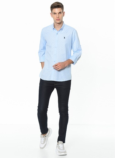 Dewberry Gömlek Mavi